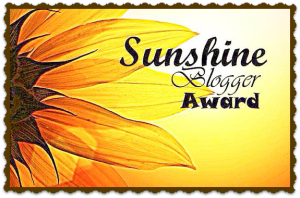 Sunshine Bloggers Award