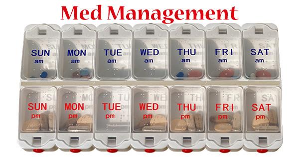 Tips for MedicationManagement