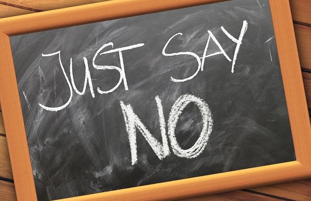 Saying No – My BiggestDifficulty